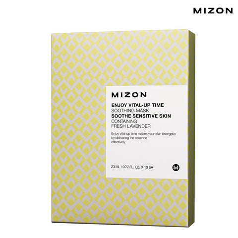 Mizon - Enjoy Vital-Up Time - Soothing Mask-Set 25ml x 10ad