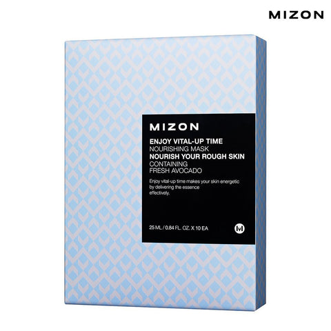 Mizon - Enjoy Vital-Up Time - Nourishing Mask-Set 25ml x 10ad