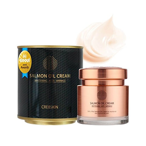 Cre8Skin - Salmon Oil Cream 80g