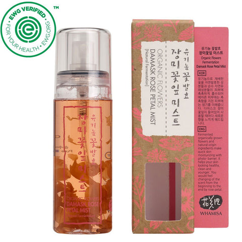 Whamisa - Organic Flowers Damask Rose Petal Mist 80ml