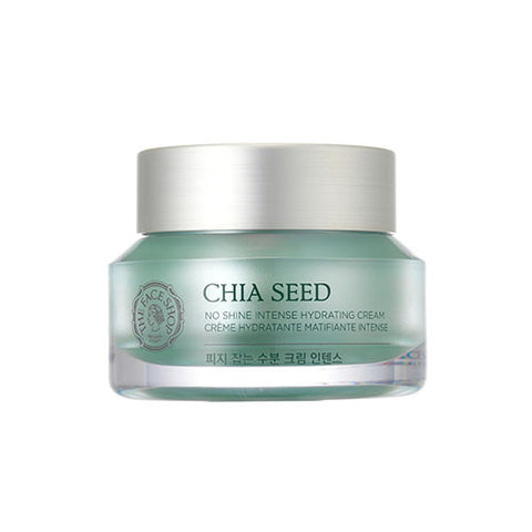 The Face Shop - Chia Seed No Shine Intense Hydrating Cream 50ml
