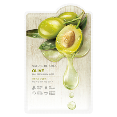 Nature Republic - Real Fresh Mask Sheet Olive 30ml
