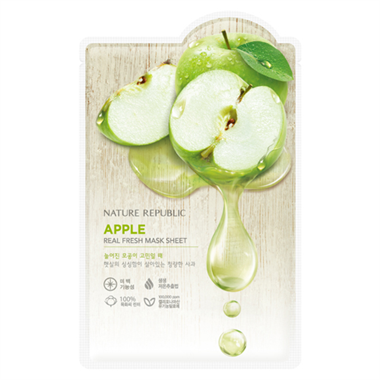 Nature Republic - Real Fresh Mask Sheet Apple 30ml