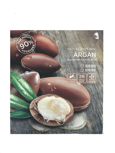 Nature Republic - Argan Aqua Gel (Hydrogel) Sheet Mask