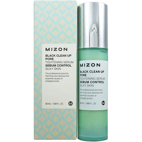 Mizon - Black Clean Up Pore Tightening Serum 50ml