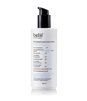 Belif - Oil Control Moisturizer Fresh 125ml