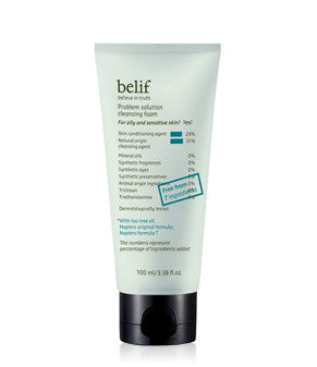 Belif - Problem Solution Cleansing Foam 100ml