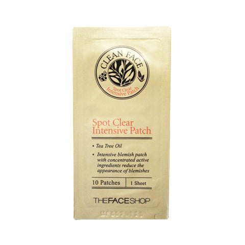 The Face Shop - Clean Face Spot Clear Intensive Patch