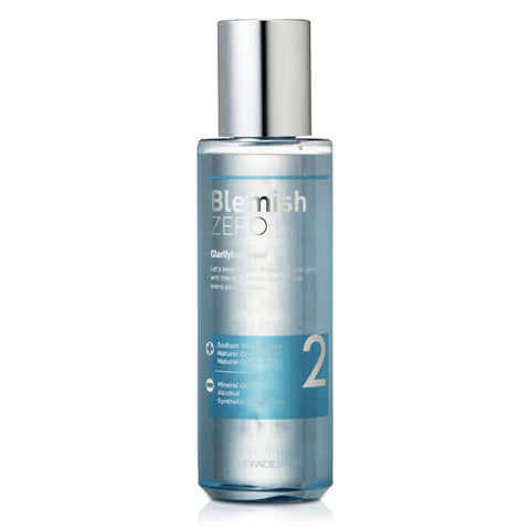 The Face Shop - Clean Face Blemish Zero Clarifying Toner 200ml