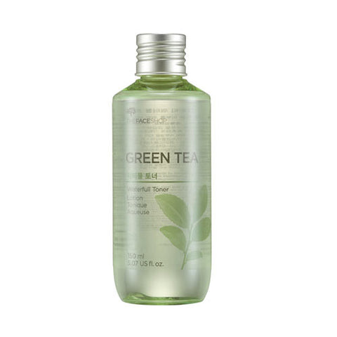 The Face Shop - Green Tea Waterfull Toner 150ml
