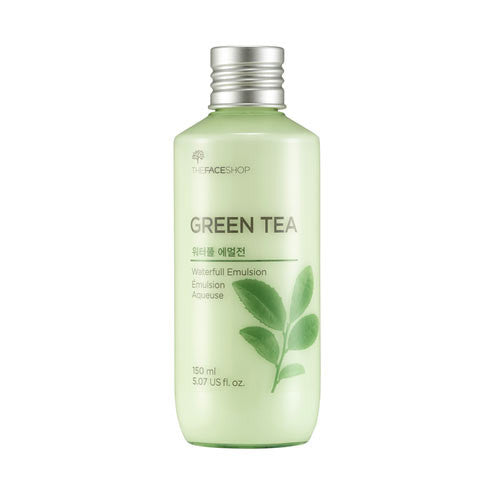 The Face Shop - Green Tea Waterfull Emulsion 150ml