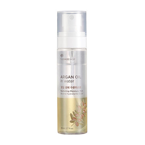 The Face Shop - Argan Oil in Water Radiating Moisture Mist 80ml