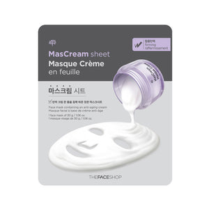 The Face Shop -Intense Brightening Mascream Sheet