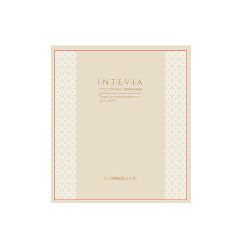 The Face Shop - Intevia Active Original Serum Mask