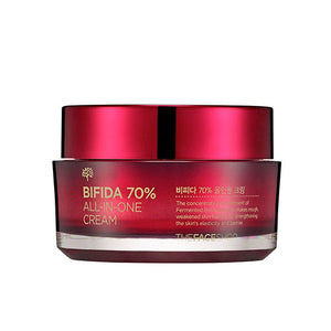 The Face Shop - Bifida 70% All in One Cream 50ml