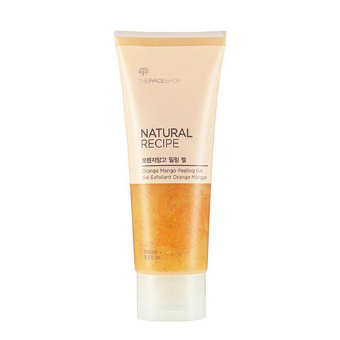 The Face Shop - Natural Recipe Orange Mango Peeling Gel 100ml