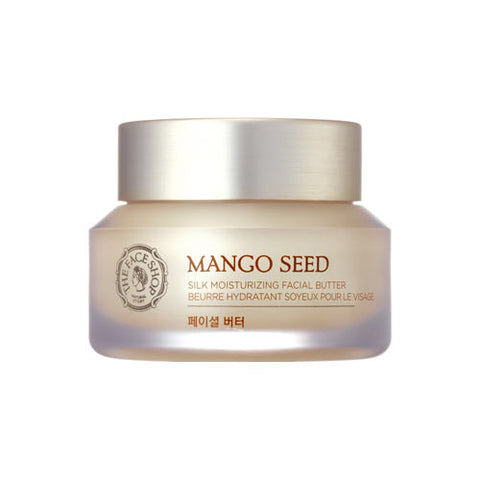 The Face Shop - Mango Seed Silk Moisturizing Facial Butter 50ml
