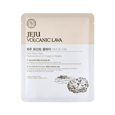 The Face Shop – Jeju Volcanic Lava Clay Face Mask