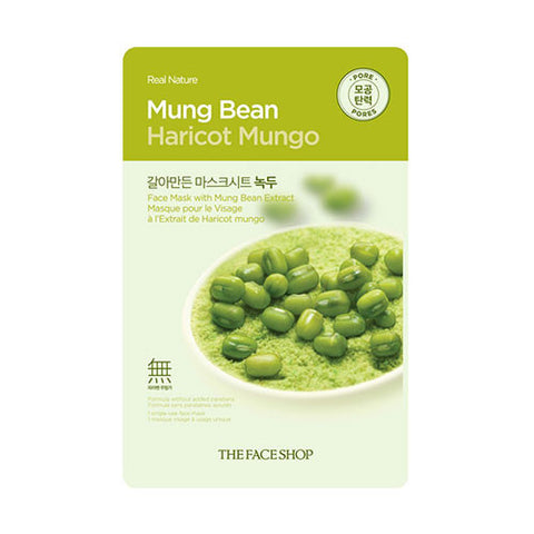 The Face Shop - Real Nature Mung Bean Face Mask