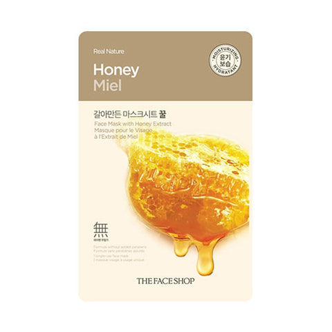 The Face Shop - Real Nature Honey Face Mask
