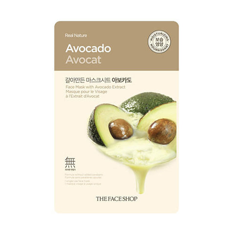 The Face Shop - Real Nature Avocado Face Mask