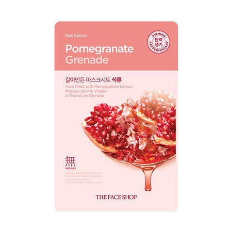 The Face Shop - Real Nature Pomegranate Face Mask