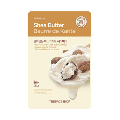 The Face Shop - Real Nature Shea Butter Mask