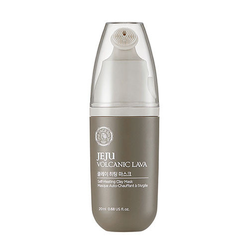 The Face Shop - Jeju Volcanic Lava Self Heating Clay Mask - 20ml