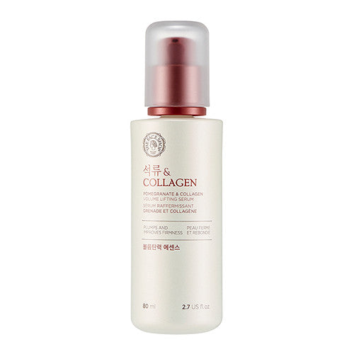 The Face Shop – Pomegranate & Collagen Volume Lifting Serum - 80ml