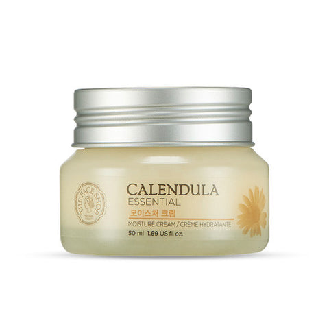 The Face Shop - Calendula Essential Moisture Cream 50ml