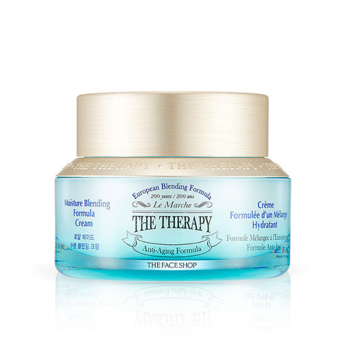 The Face Shop - The Therapy Royal Made Moisture Blending Formula Cream 50ml