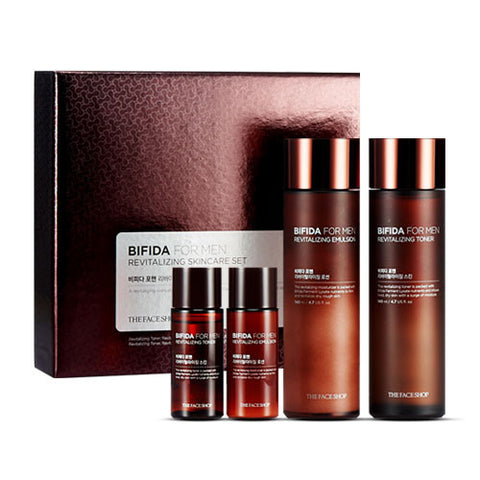 The Face Shop - Bifida for Men Revitalizing Skincare Set