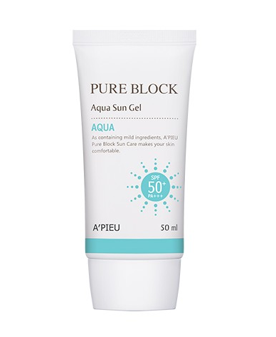 A'PIEU - Pure Block Aqua Sun Gel - 50ml