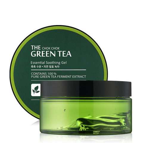 Tony Moly - The Chok Chok Green Tea Essential Soothing Gel  300ml