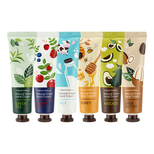 Tony Moly - Naturalth Green Food Hand Cream 6 Kinds 30ml
