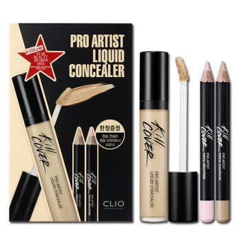 Clio - Kill Cover Pro Artist Liquid Concealer Set