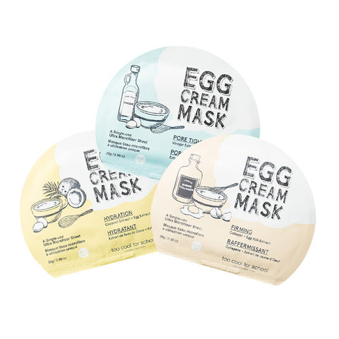 Too Cool For School - Egg Cream Mask 28ml - 5li
