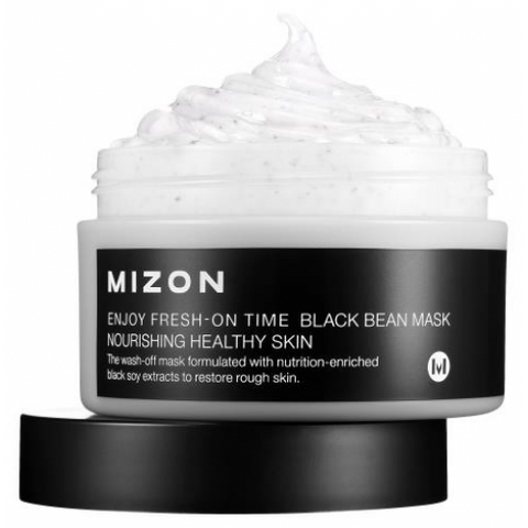 Mizon - Enjoy Fresh-On Time Black Been Mask 100ml
