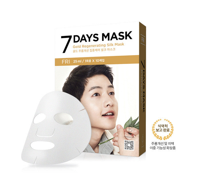 Forencos - Song Joong-gi mask pack [Friday] Seven Days mask set 10'lu (10x25ml)