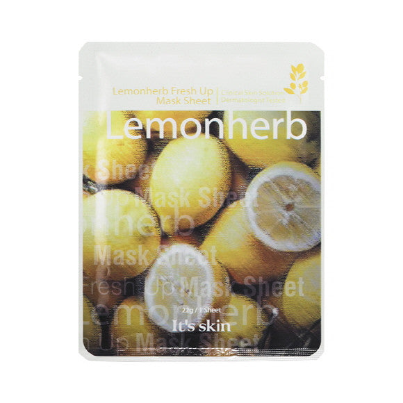 It's Skin - Lemonherb Fresh Up Mask Sheet