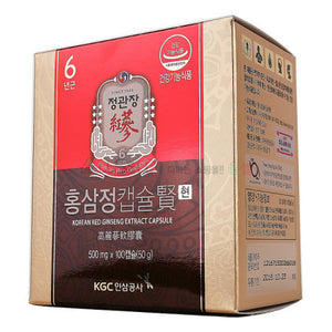 KCG - Red Ginseng Tablet 50 gr - 100 Tablet
