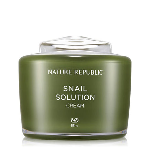 Nature Republic - Snail Solution Cream 55g