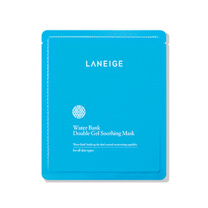Laneige - Water Bank Double Gel Soothing Mask - 4'lü (4x28g)