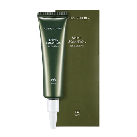 Nature Republic - Snail Solution Eye Cream 30ml