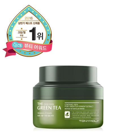 Tony Moly - The Chok Chok Green Tea Watery Cream 60ml