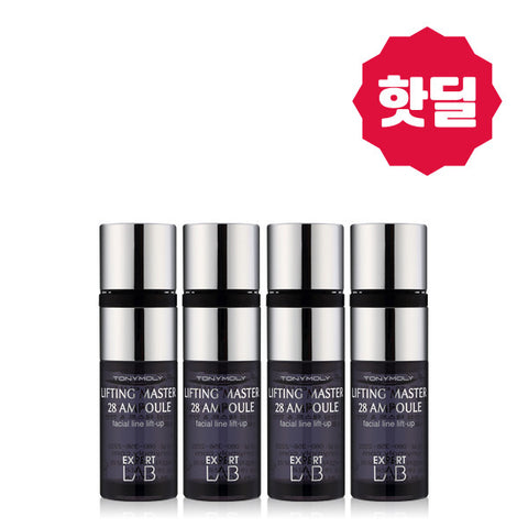 Tony Moly - Expert Wrap Lifting Master 28 Ampoule 7ml x 4ad