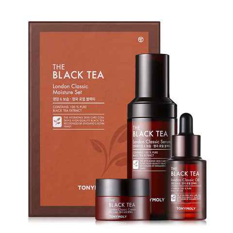 Tony Moly - The Black Tea London Classic Moisture Set