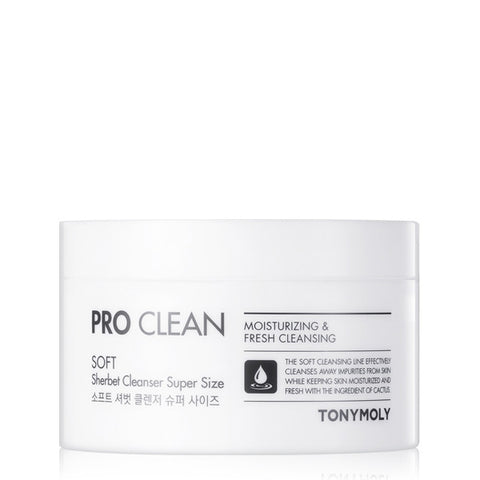 Tony Moly - Pro Clean Soft Sherbet Cleanser Super Size 150g