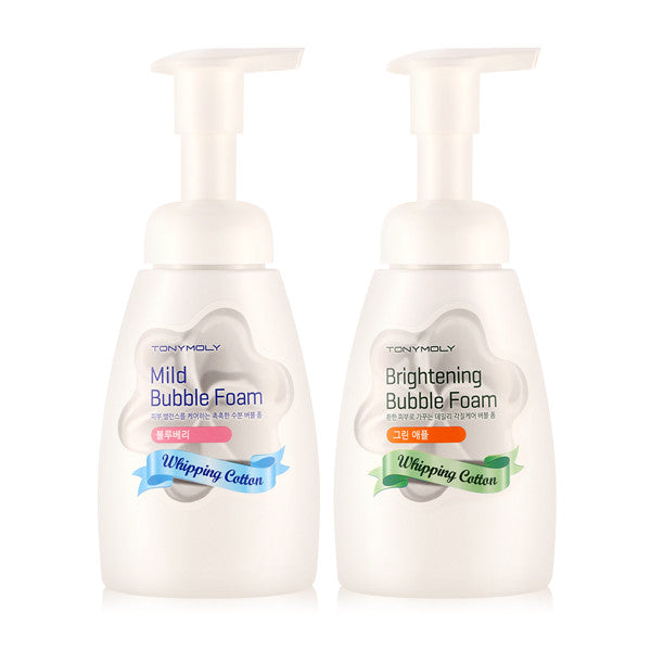 Tony Moly - Two Kinds Of Whipping Cotton Bubble Foam 200ml