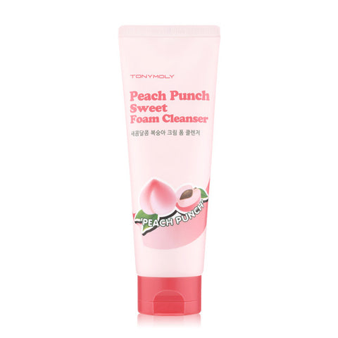 Tony Moly - Peach Punch Sweet Foam Cleanser  150ml